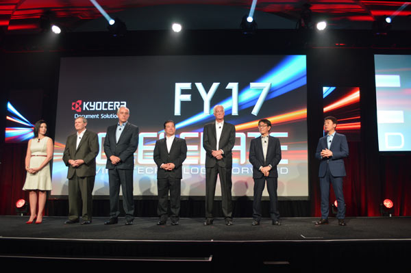 Kyocera Executives at Annual Meeting