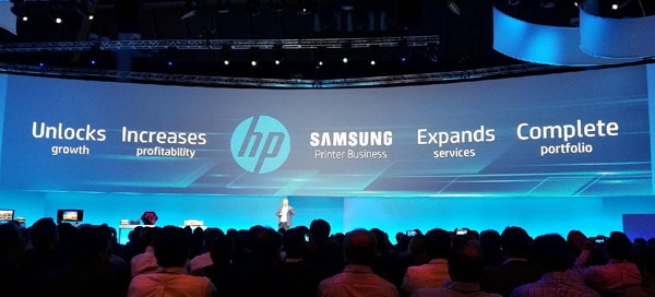 HP acquired Samsung's printing business for $1.05B